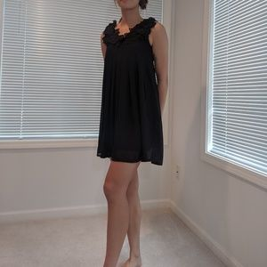 Yumi Petal Chiffon Dress
